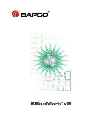 BAPCo EEcoMark v2 Boxart