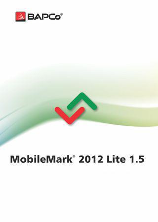 BAPCo MobileMark 2012 Lite 1-5 Boxart
