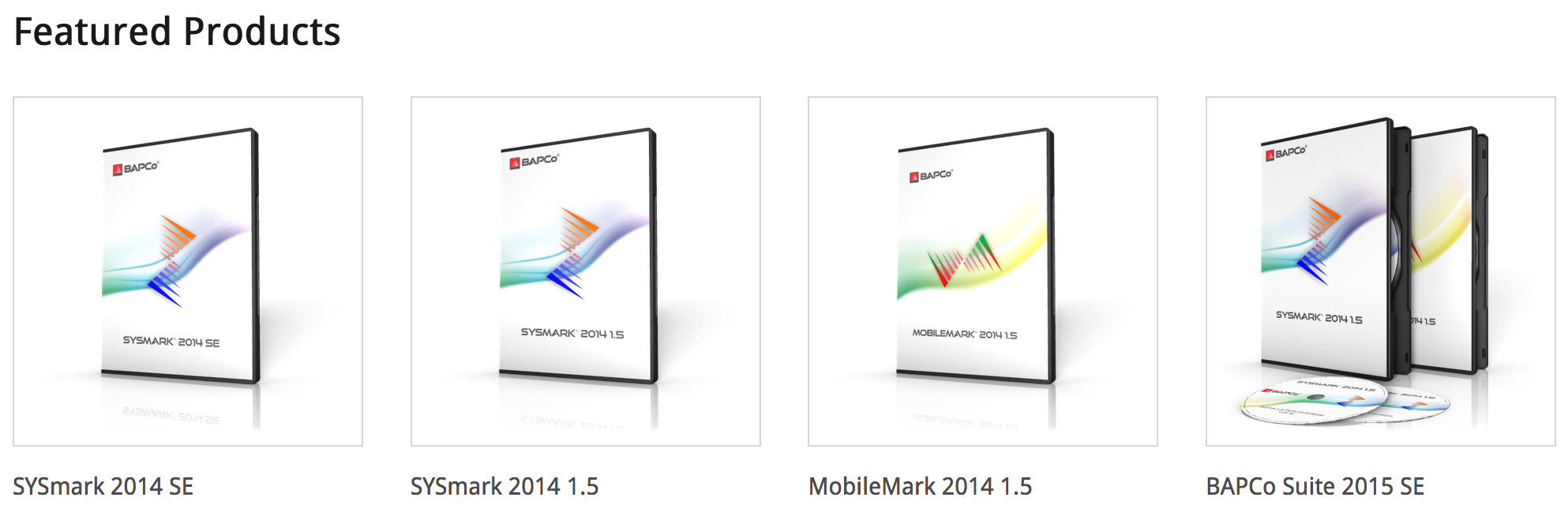 Need a Copy of BAPCo's SYSmark or MobileMark Benchmark for a Tender Submission?